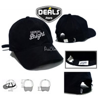Topi Distro Shining Bright - Top Baseball Caps Distro Premium