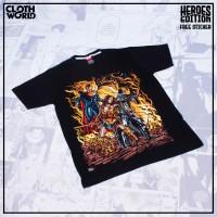 Kaos D.C. Trinity Movie Batman V Superman Tshirt Baju Super Hero