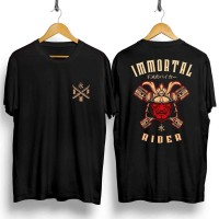 Kaos Hitam Gambar Immortal Rider / Baju Distro Pria Keren Grosir Murah