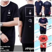 T-shirt Distro Sch Original Premium 100%Soft Cotton Terbaik/Kaos Murah