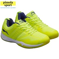 PROMO MURAH! Sepatu Badminton LINING Cloud Ace AYTP039 - 4 Yellow
