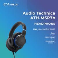 Audio Technica ATH MSR7B MSR7 B Over-Ear High-Resolution Headphone - Hitam