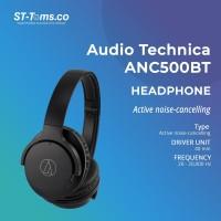 Audio Technica ATH ANC500BT / ANC 500 / ANC500 BT ANC Headphone- Black