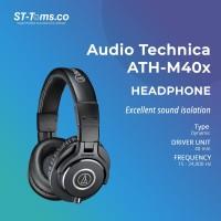 Audio Technica ATH-M40X Professional Monitor Headphones - Hitam