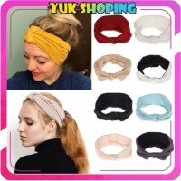 ✧YUKSHOPING✧R035 Bandana Korea Style Bendo Rambut Fashion