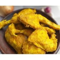 SayurHD Ayam pejantan goreng bumbu kuning siap santap per pc