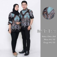 Baji batik couple kemeja anak muda baju kantor baju seragam