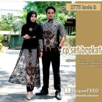 Baju batik couple fashion anak muda trend ootd