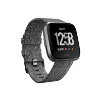 Fitbit Versa Special Edition Fb505Bkgy-Cjk - Charcoal Woven