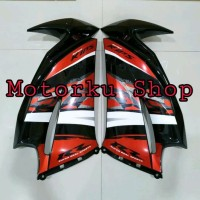 cover sayap fairing ninja rr new orange special edition 201