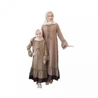 Pakaian wanita muslim dress Teresa Couple Mom Kid Baju Pasangan Ibu Da