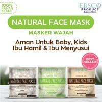masker ibu hamil ibu menyusui dan bayi anak Natural face mask alami