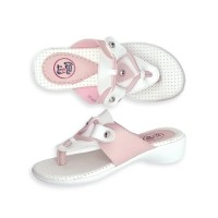 Sandal Anak Perempuan Fit To Feet Alice - Pink/Putih