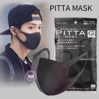 masker scuba pitta jepang hitam black mask Pitta G mask jepang sponge