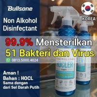 BULLSONE HOCLER DISINFECTANT DESINFEKTAN NON ALKOHOL 500ML