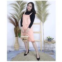 Playsuit Jeans Salma / dress bangkok / overall bkk / dress casual cewe
