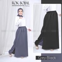 rok bolak balik moscrepe bawahan muslimah fashion