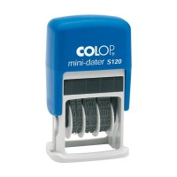 COLOP mini-dater S120 (Stempel Tanggalan dengan Bak Tinta Otomatis )