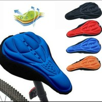 Cover sarung jok saddle sepeda 3D Gel