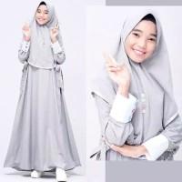 Fashion Muslim / Gamis Syari Anak (Remaja) Naya Abu