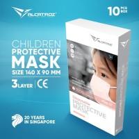 Masker Anak Alcatroz Care Face Disposable 3 PLY - 10 PCS