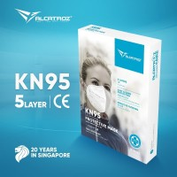 Masker N95 Alcatroz Care Face Disposable 5 PLY Nano Level Protection