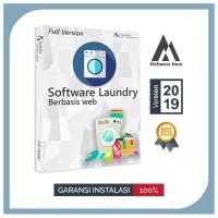 Software Aplikasi laundry berbasis web PHP source code original