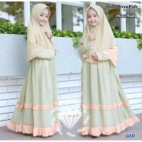 BAJU BUSANA MUSLIM ANAK Maxi Muslim anak perempuan / baju ngaji