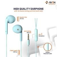 AVEN N19 MACARON Earphone - Headset - Handsfree - Earbud