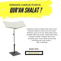 Paket Alquran Sholat Shalat Plus Reading Standing Spt d Masjidil Haram