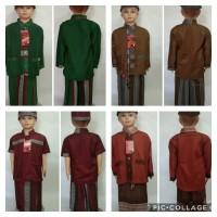 Baju Muslim Anak SARKOCI ( SARUNG KOKO PECI) Usia 8-10 Tahun