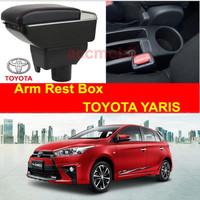 Arm Rest Box Kotak Alas Lengan TOYOTA YARIS Dual Stack 7 Port USB Char