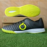 Sepatu Futsal Ortuseight Forte Vantage IN - Black/Lime Green - 38