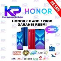 HONOR 8X 4GB 128GB GARANSI RESMI