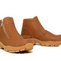 Sepatu Boots Pria Moofeat Safety Docmart Boot Pria Kulit Asli Pdl Cam