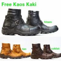 Sepatu Boots Safety Camel Docmart Boot Pria Kulit Asli Pdl Touring Ki