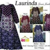 Big Sale Daster Muslim Jumbo Baju Tidur Santai Longdress Batik Baru