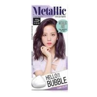 Hello Bubble Hair Color 7MA ( Metallic Ash ) Ready Stock