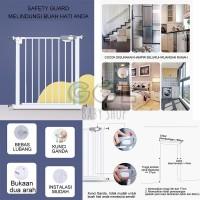 Baby Safety Gate Pagar Pengaman Pembatas Tangga Pintu Dapur Bayi Anak