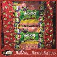 BALMUT - Bantal Selimut - KEROPI MERAH - Ukuran 150x200