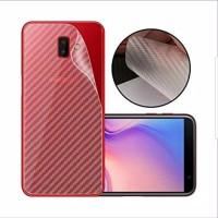 Samsung J6 2018 Anti Gores Belakang Skin Carbon Karbon Garskin