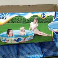 KOLAM RENANG ANAK BESTWAY 55029 lipat pool besar 152 cm setara Intex