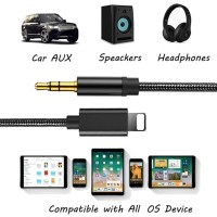 Kabel Lightning To Aux Audio Iphone 7 8 plus x XS Max XR adapter cable