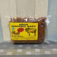 Abon Daging Sapi ASLI 100% - Bu Sarti - Rasa Pedas - 250gr