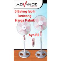 Kipas Angin Berdiri 5 baling Advance 16 in / Stand fan Advance SF-1625