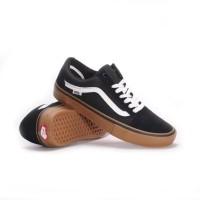 Sepatu Vans Original Black Gum / Spatu Skateboard