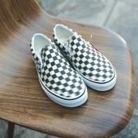 Sepatu Vans Slip On Checkerboard Blur 100% Original BNIB