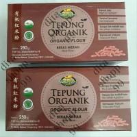 Bionic farm tepung organik beras merah 250gr