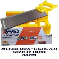 back saw set miter box saw Tolsen set gergaji mitre manual