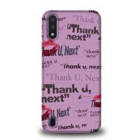Casing Samsung Galaxy A01 Thank You Next Ariana Grande L2723